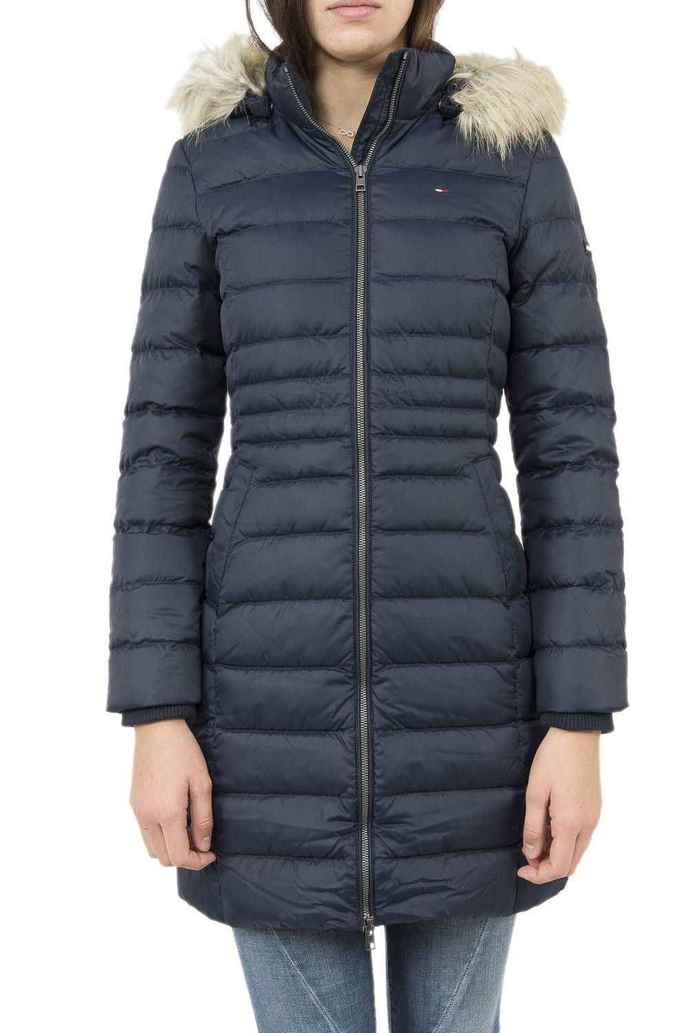 doudounes tommy hilfiger basic down coat 3 bleu
