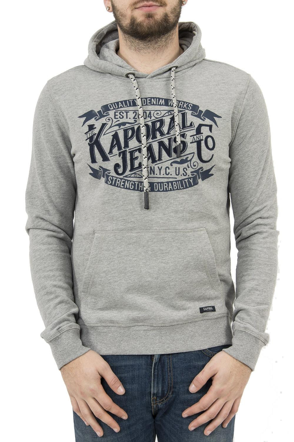 sweat kaporal loky gris