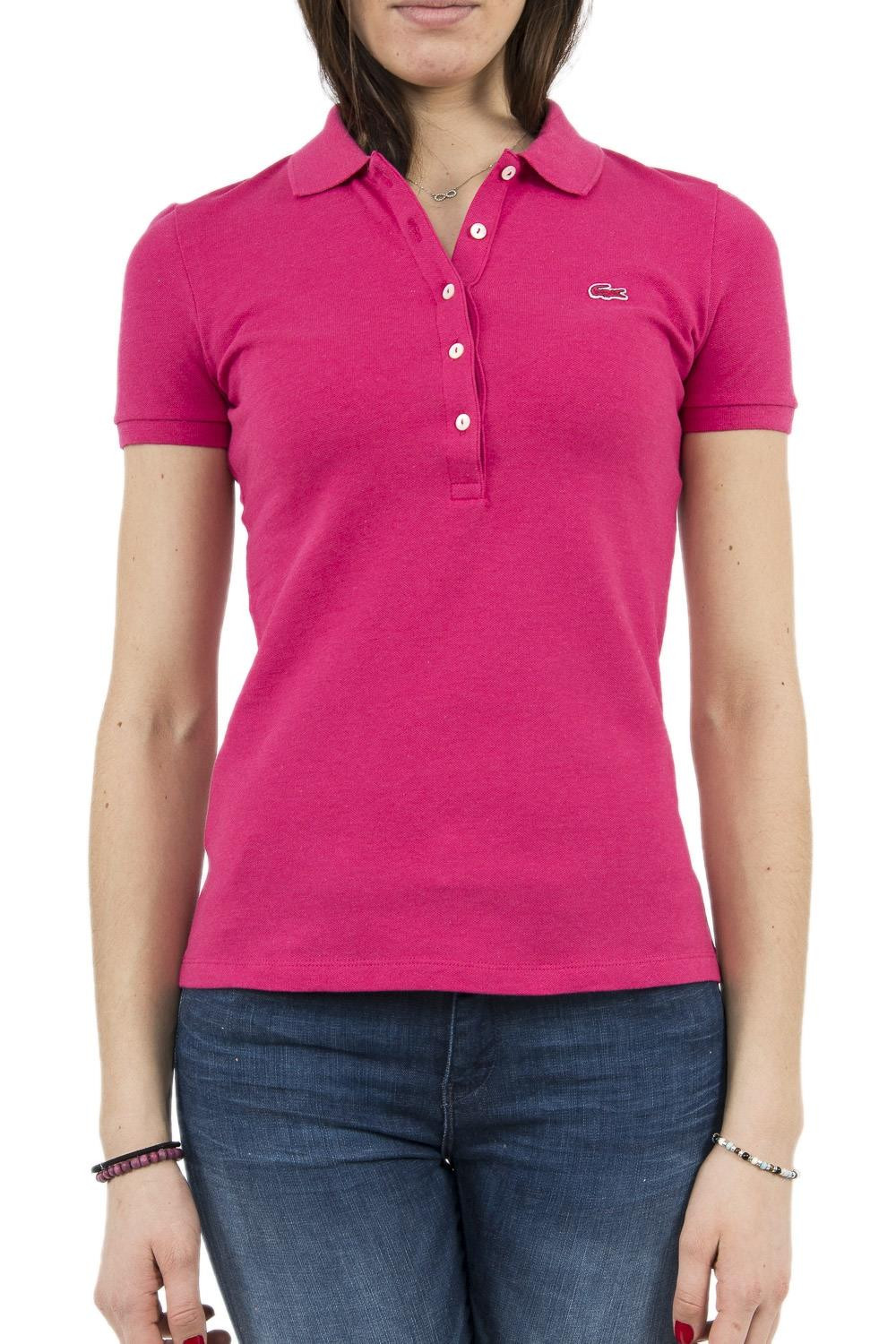 Polo Lacoste PF7845 rose