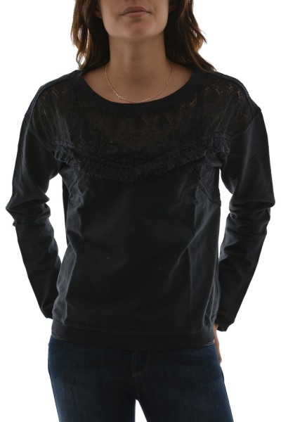 tee shirt manches longues bsb 036-210008 gris