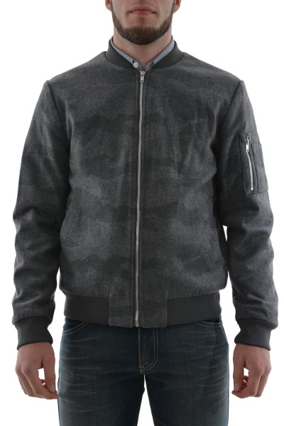 blousons et vestes Jack And Jones camo gris