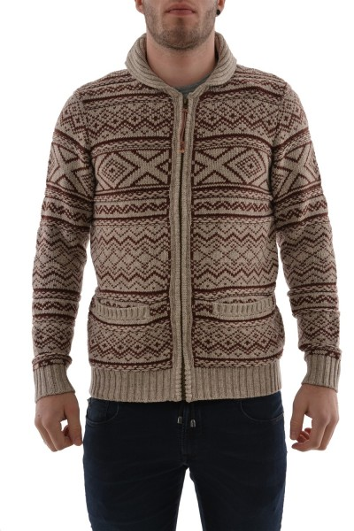gilets cardigans Jack And Jones alaska beige