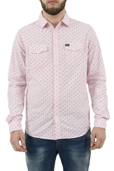 chemise petrol industries sil437 rose