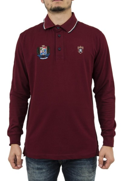 polos manches longues aristow sc016w17 invictus rouge