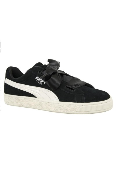 baskets mode puma 365138 suede heart jewel noir