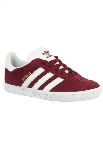 baskets mode adidas originals cq2914 gazelle c rouge
