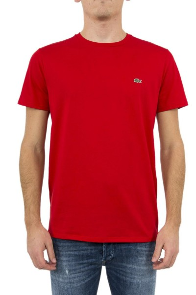 tee shirt lacoste th6709 rouge