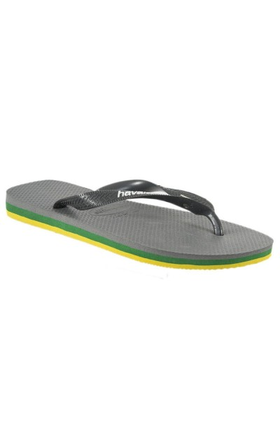 tongs havaianas 4140715 brasil layers gris