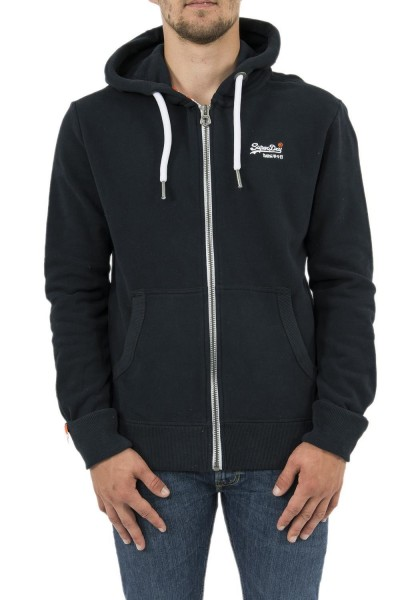 sweat superdry m20007ns bleu