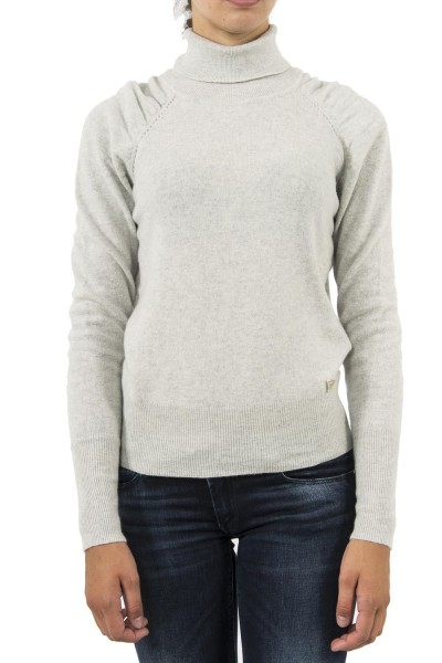 pull hiver guess jeans w84r92 gris