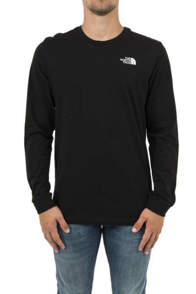 tee shirt manches longues the north face 3l3b simple noir