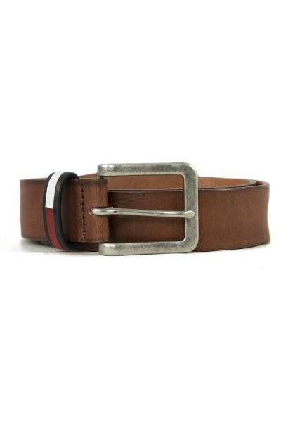 ceinture tommy jeans am0am04107 marron