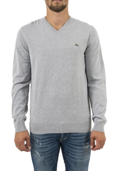 pull hiver lacoste ah4087 gris