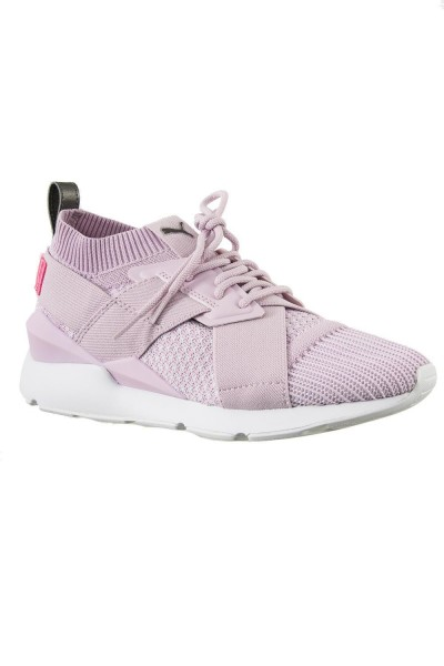 baskets mode puma 365536 muse evoknit rose
