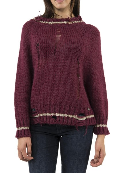 pull hiver bsb 040-260048 rouge
