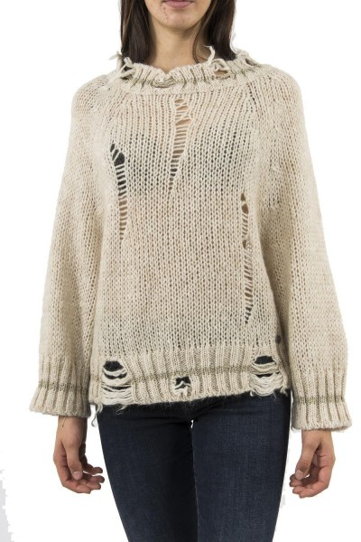 pull hiver bsb 040-260048 beige