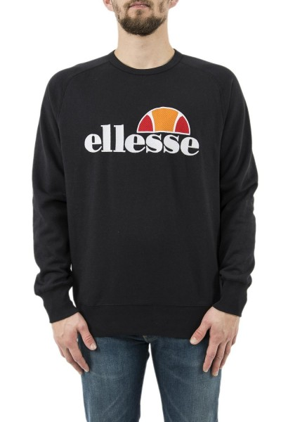 sweat ellesse eh h crew neck uni noir