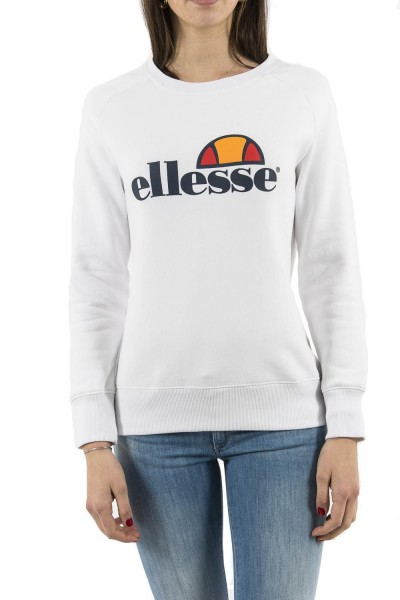 sweat ellesse eh f sws col rond blanc