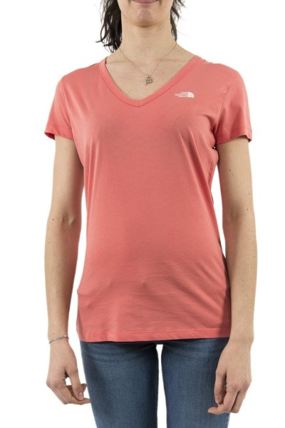 tee shirt the north face a3h6 simple dom rouge