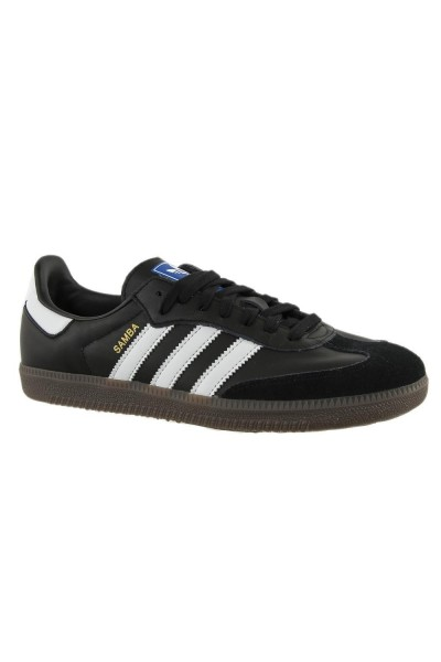 baskets mode adidas originals b75807 samba og noir