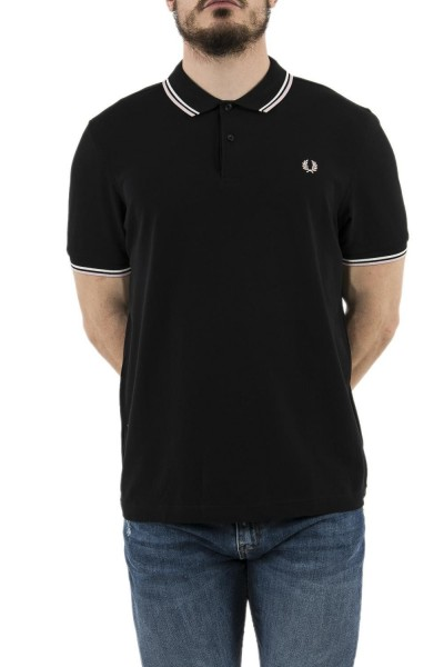 polos fred perry mm3600 noir