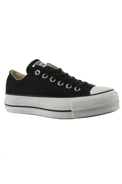 baskets mode converse 560250c chuck taylor all star lift ox noir