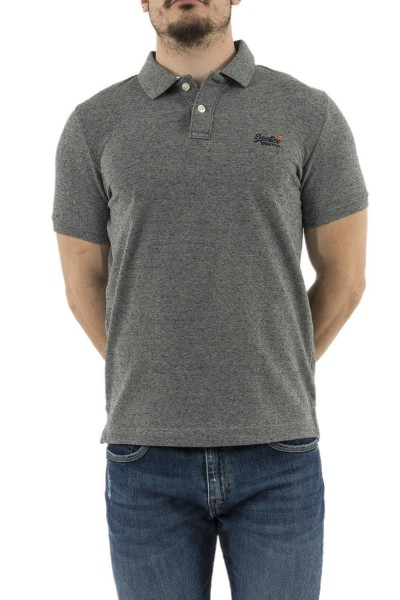 polos superdry m11005ns gris