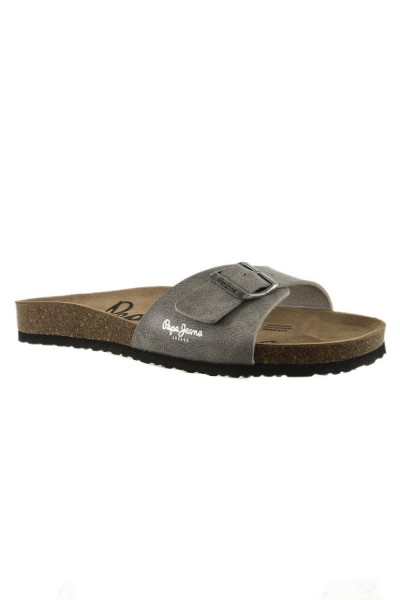 tongs pepe jeans bio gris