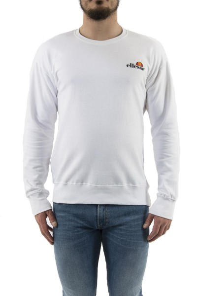sweat ellesse eh h sws col rond classic blanc