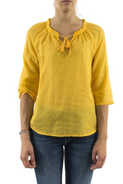 tee shirt manches longues street one 341494 jaune