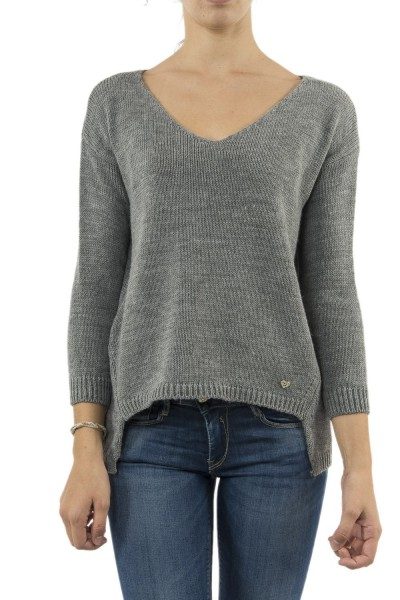 pull hiver please m49774001 gris