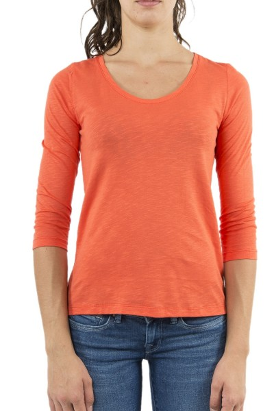 tee shirt manches longues street one 313909 rouge