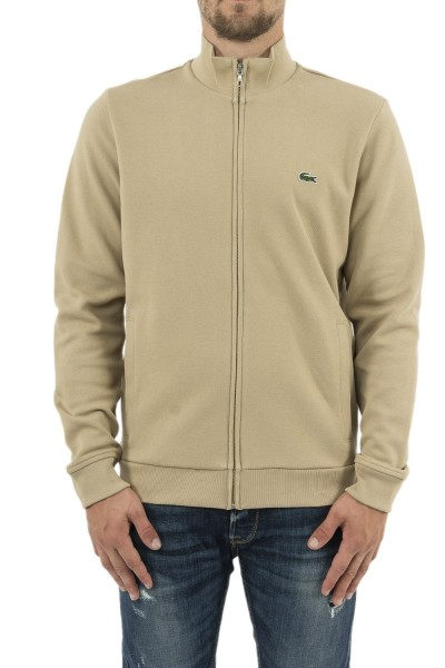 sweat lacoste sh4317 beige