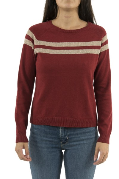 pull hiver only 15184469 amelie rouge