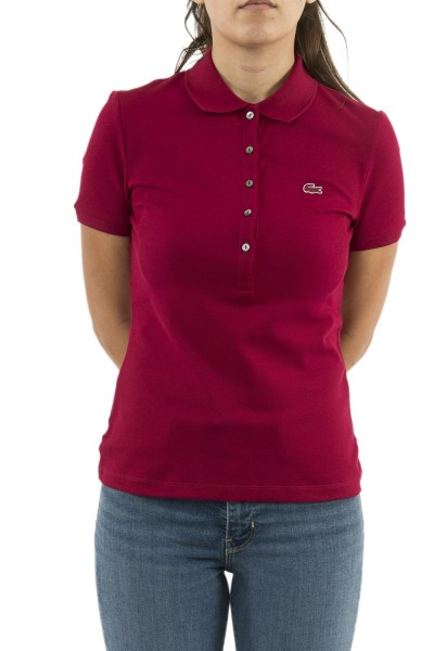 polos lacoste pf7845 rouge
