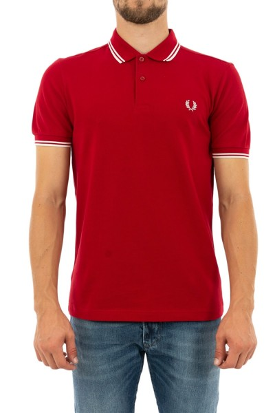 polos fred perry mm3600 rouge