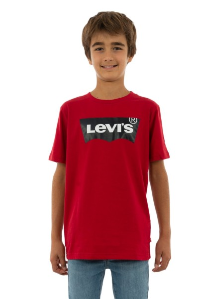 tee shirts manches courtes levis np10027 batwing r86 levi's red