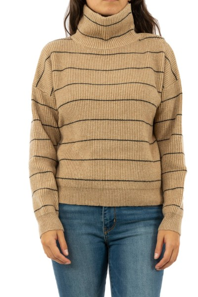 pull hiver bsb 042-260004 ivoire