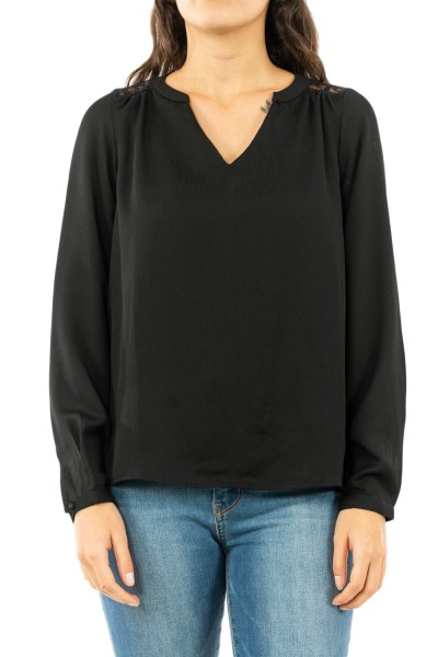 tee shirt manches longues only 15194008 eva black