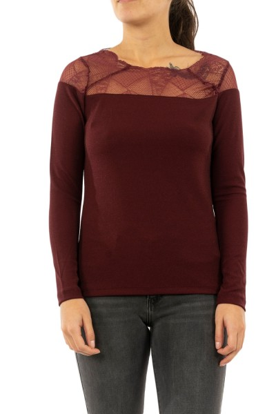 tee shirt manches longues only 15190681 aya tawny port