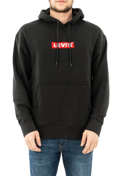 sweat levis 72632 relaxed graphic mineral black