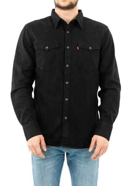 chemise jeans levis barstow western marble black