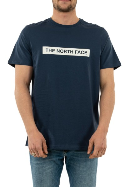 tee shirt the north face 3s3o light n4l blue wing teal