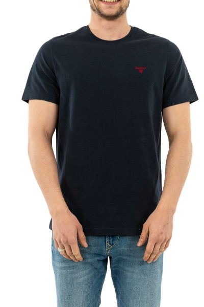 tee shirt barbour mts0331 ny91 navy