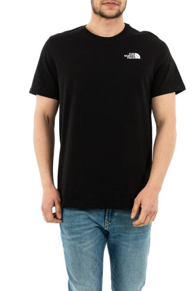 tee shirt the north face rnbw ky4 black
