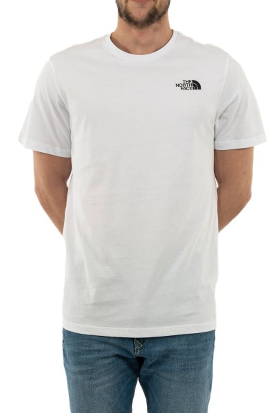 tee shirt the north face rnbw p80 white