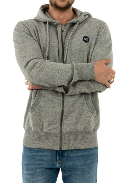 sweat superdry m2010093a 9ss collective dark grey grit