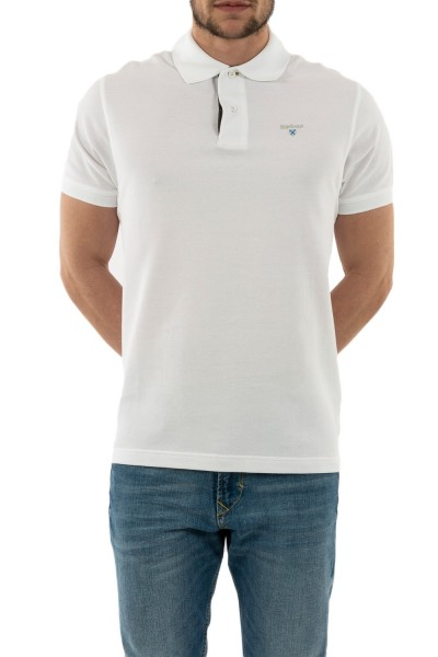 polos barbour mml0012 wh11 white/dress