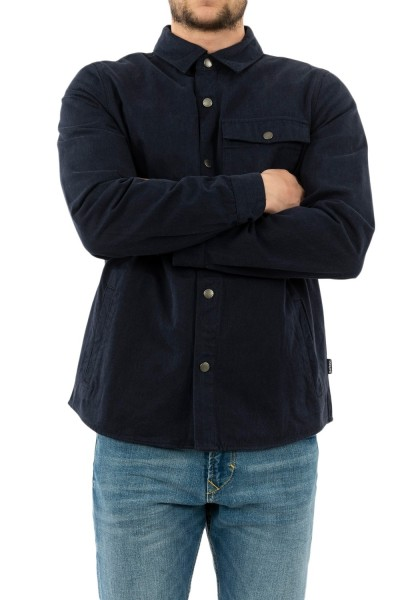 chemise barbour mos0088 bl53 inky blue