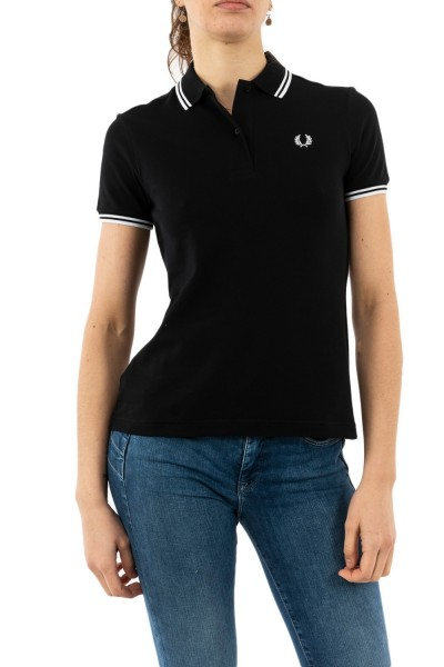polos fred perry g3600 350 black